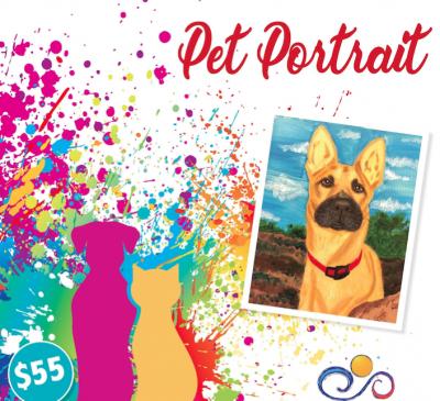 Offering Paint Your Pet Classes!