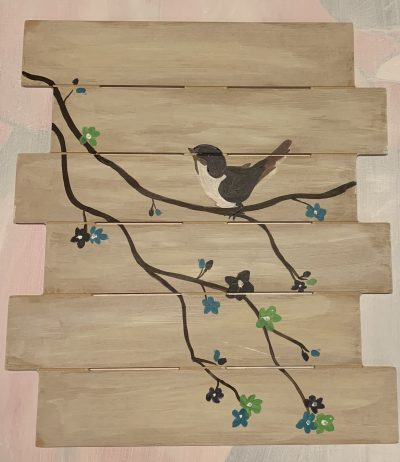 Wooden Planks Paintable Cutout