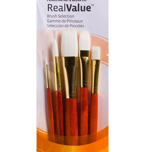 Studio Paint Brushes (5 Pack)
