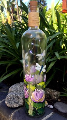 Wine Bottle Paint Kit