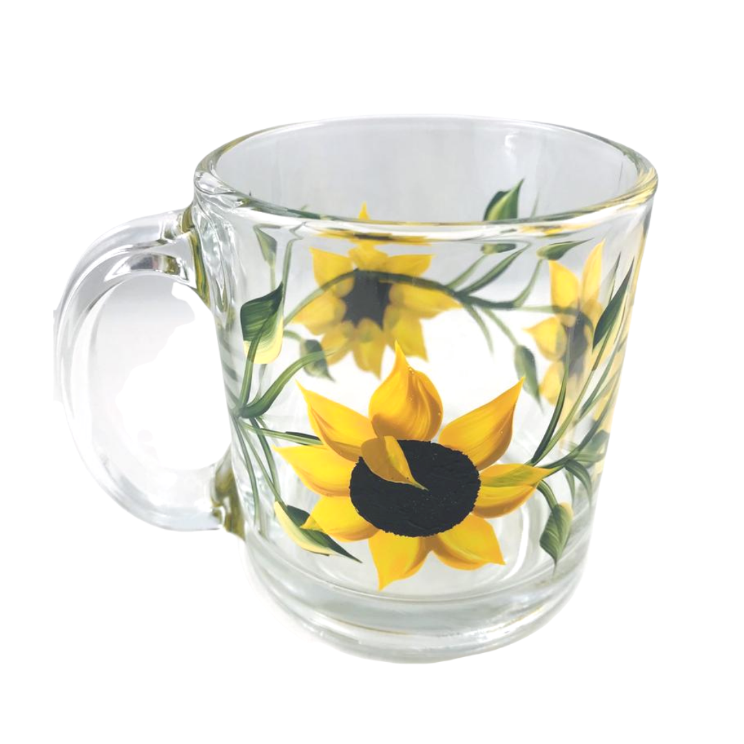 Paint A Glass Mug Kit
