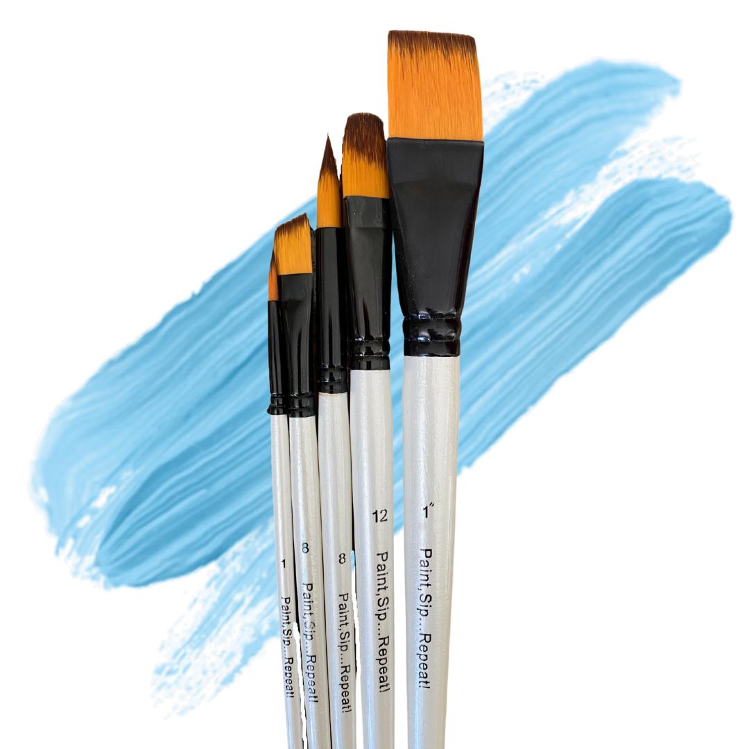 Studio Paint Brushes (5 Pack)