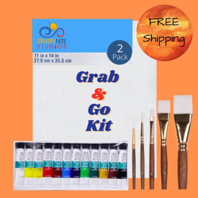 Grab And Go Paint Kit