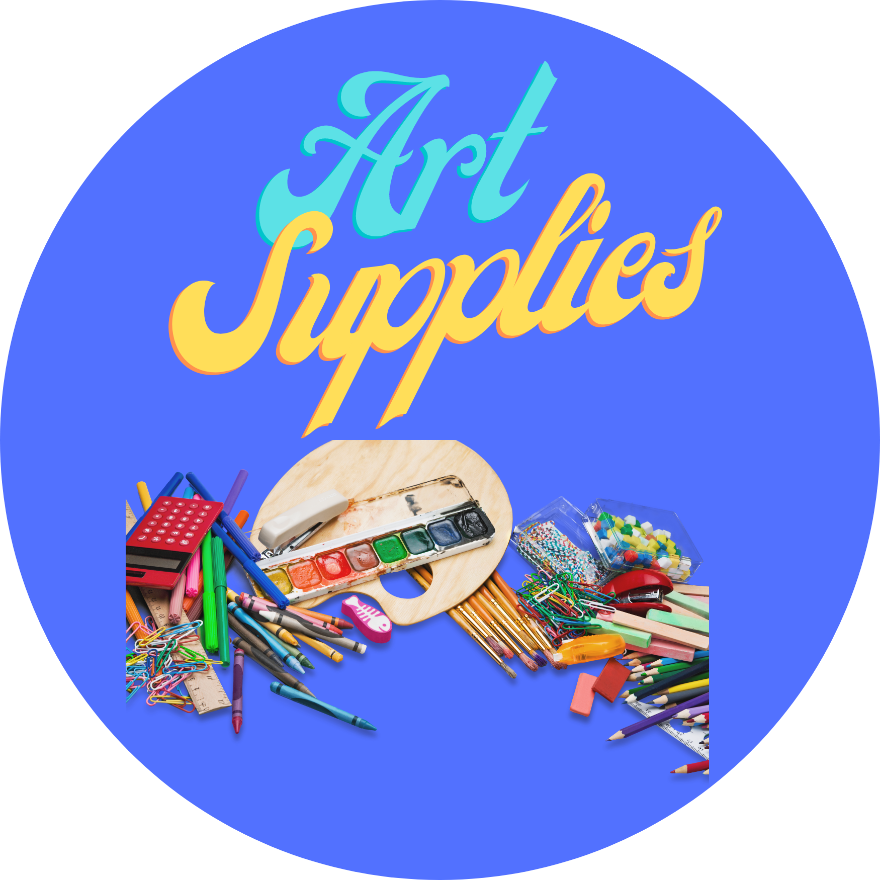 All ART SUPPLIES Listed Here!