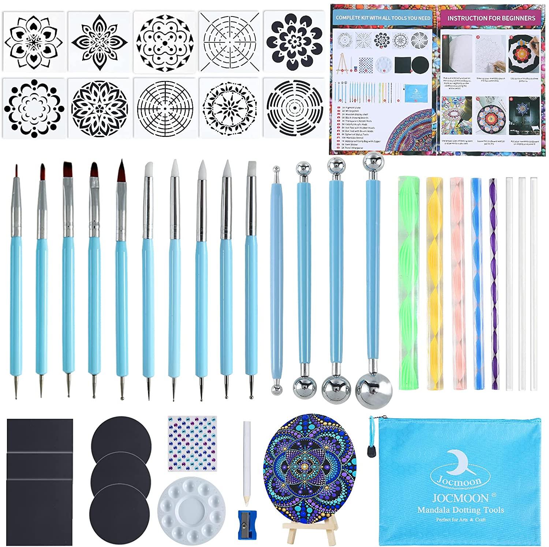 Mandala Dotting Kit- 45 Pieces